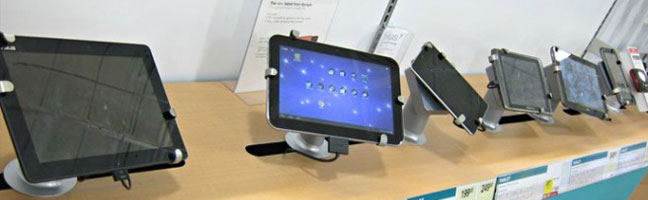 Se han empezado a producir más tablets que ordenadores