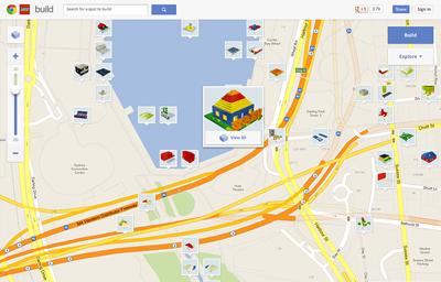 Build witj Chrome, juego de Lego y Google