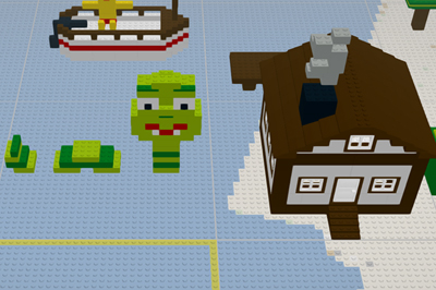 Build with Chrome por Google y Lego
