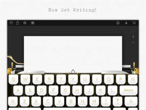Hanx Writer la aplicación de Tom Hanks que convierte tu ipad en una maquina de escribir