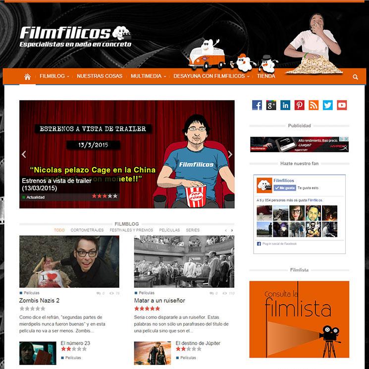 Página web de filmfilicos