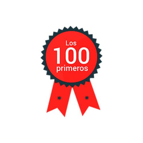 Logo para los 100 primeros