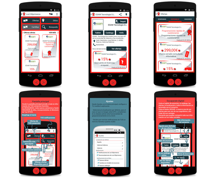 Los 100 primeros APP de marketing