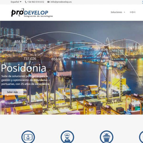 Página web Prodevelop