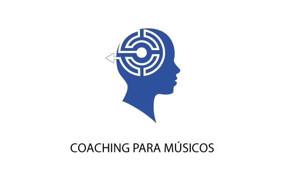 Logo Coaching para músicos en QuatreSoft diseño digital