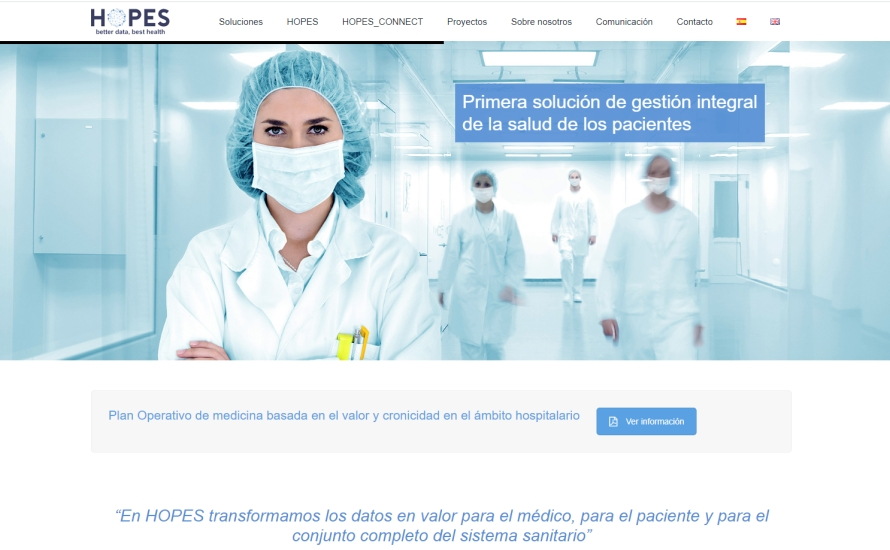 Página web Hopes