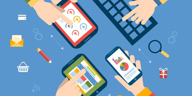 Tendencias del diseño web en 2015 contadas por QuatreSoft servicios de Internet