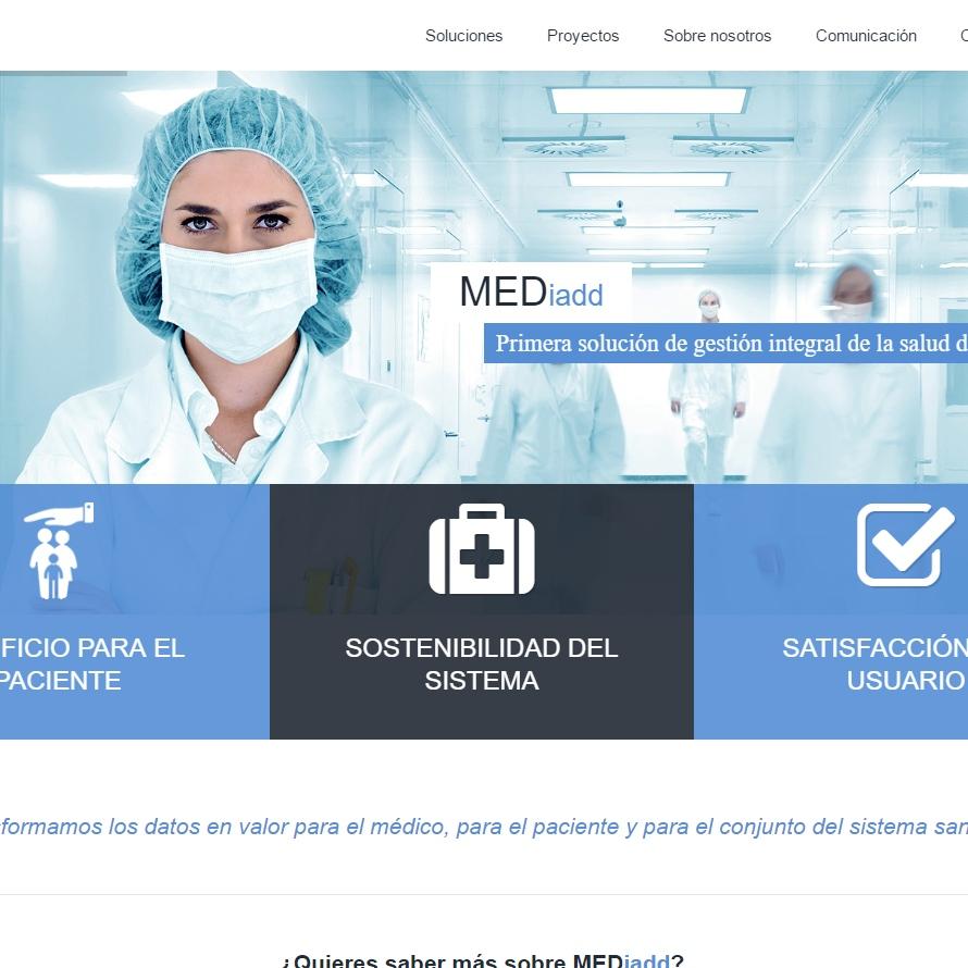 Página web de Medaidd