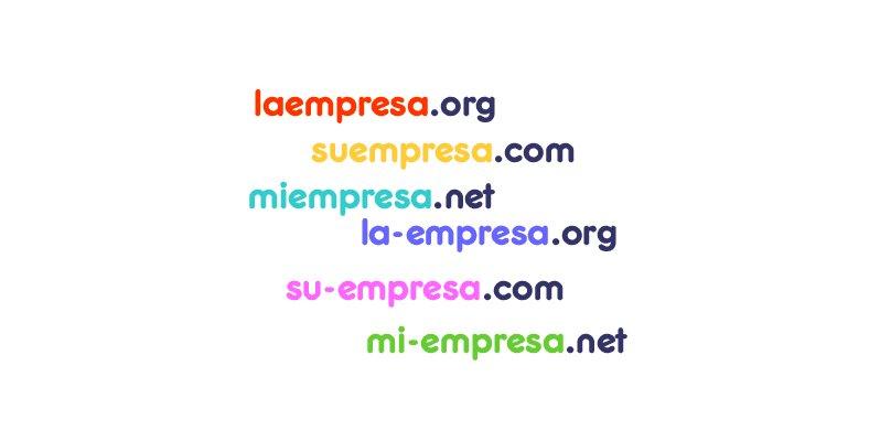 Cómo elegir un buen nombre de dominios