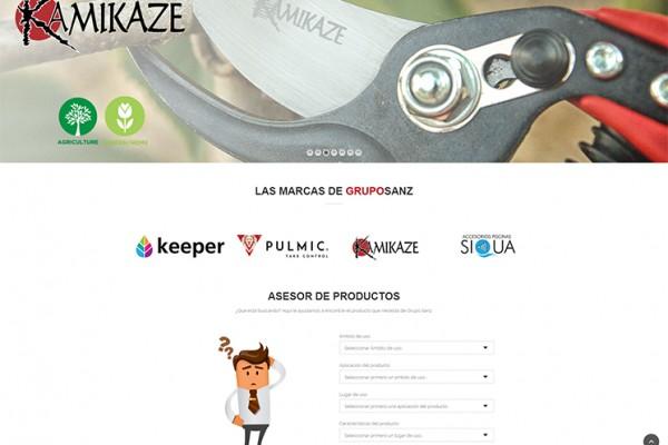 Página web Grupo Sanz