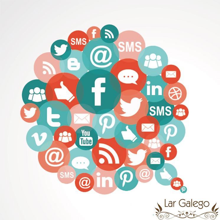 Redes sociales Lar Galego