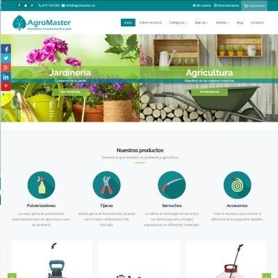 Tienda online AgroMaster