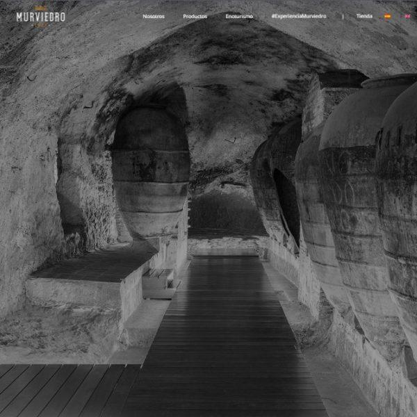 Página web Bodegas Murviedro