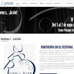 Página web Requena y acción