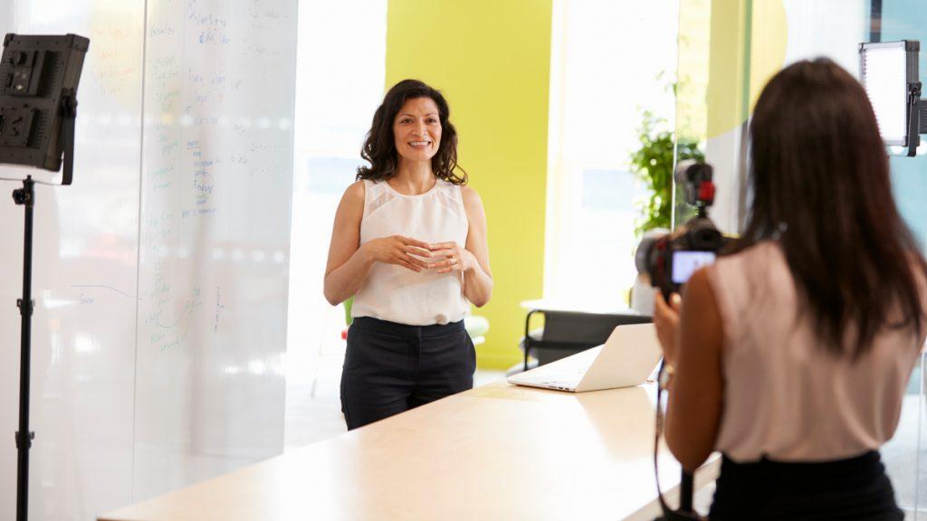 Consejos para vídeos corporativos