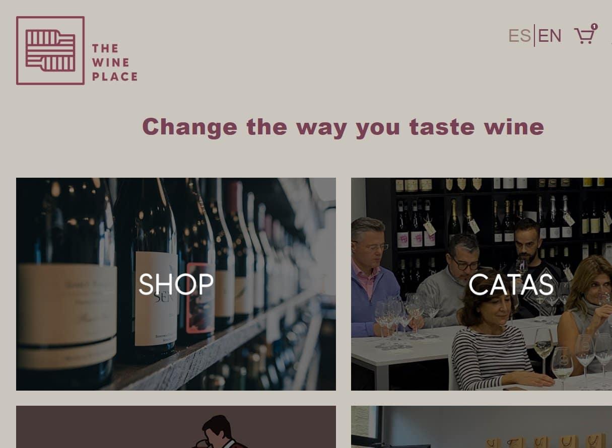 Tienda online The Wine Place